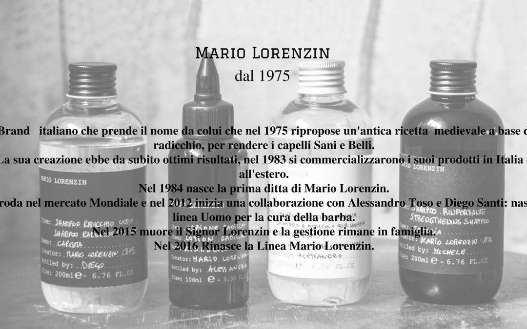 News Prodotti: Linea per capelli Mario Lorenzin
