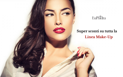 Sconti Linea Make-Up Euphidra 2015-2016